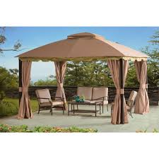 Lowes Patio Gazebo by Patios Using Stunning Garden Winds Gazebo For Cozy Outdoor
