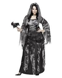 Ladies Size Halloween Costumes Graveyard Bride Size Halloween Costume Veil Elegant