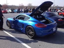 has anyone seen a cayman gts in sapphire blue rennlist porsche