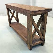 Farmhouse Console Table Wooden Farmhouse Inspired Console Table Molly S Marketplace