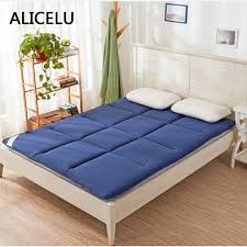breathable sheets alicelu bed mattress pad sheets double single bed cushion mattress