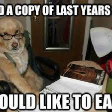 Dog With Glasses Meme - financial advice dog by bakoahmed meme center