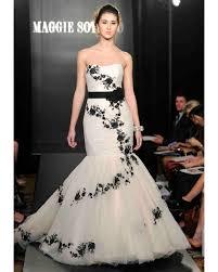 black and white wedding dresses spring 2013 bridal fashion week