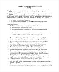 resume objectives samples lofty ideas writing a resume objective