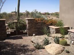 Front Yard Desert Landscape Mediterranean Exterior Best 25 Arizona Backyard Ideas Ideas On Pinterest Backyard