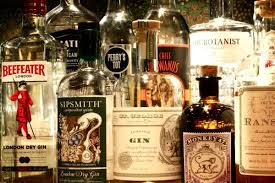 alcoholic drinks bottles how gin came to be known as the big bad wolf of the spirits world