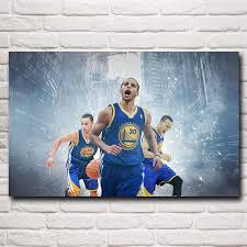 stephen curry basketball star art silk fabric poster print wall
