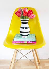 Striped Vase Diy Striped Vase At Home In Love