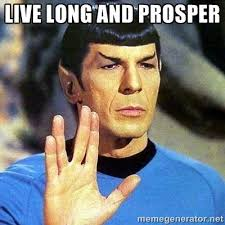 Star Trek Meme Generator - live long and prosper spock image meme generator http
