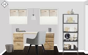 Home Office Wall by Client Feature A Contemporary Home Office In Chicago The