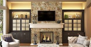 living design ideas fireplace with traditional built in tv cabinet
