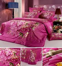 Bed Covers Set Free Shiping High Quality Bed Set Modem Painting 3d Flower