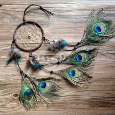 aliexpress buy catcher peacock feather wall hanging