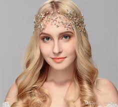 forehead headband 2018 wedding rhinestone forehead headband ribbon crown