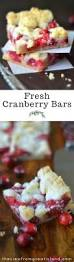 Cranberry Island Kitchen Fresh Cranberry Bars The View From Great Island