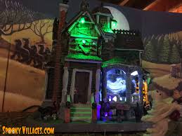 Lemax Halloween Houses by Review U2013 Lemax Last House On The Left U2013 Spookyvillages Com
