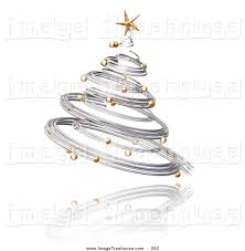 tree gold lights decoration
