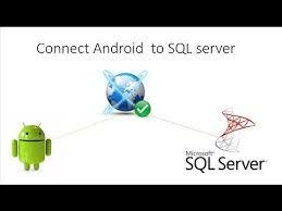 android sql connect android to sql server الأتصال بقواعد البيانات على خادم