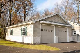 3 Door Garage by Ephrata Pa Garage Renovation Stable Hollow Construction