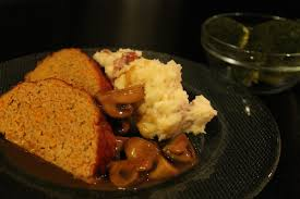 turkey and mushroom gravy recipe turkey meatloaf blue cheese mashed potatoes mushroom gravy and