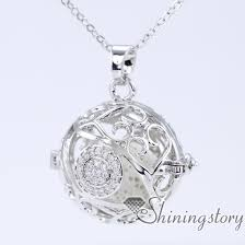 keepsake charms cubic zircon diffuser necklace lockets with charms keepsake