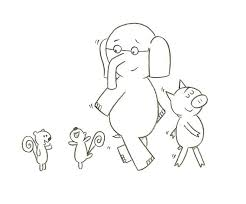 coloring pages elephant and piggie elephant and piggie coloring pages related post elephant piggie