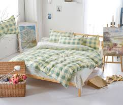 Twin Plaid Bedding by Online Get Cheap Orange Plaid Bedding Aliexpress Com Alibaba Group
