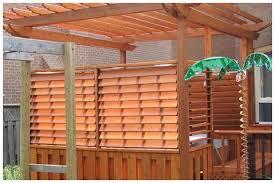 flex fence louvered hardware for fences decks pergolas tub