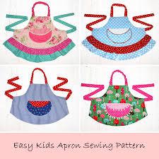 apron pattern child apron pattern apron pattern pdf pattern
