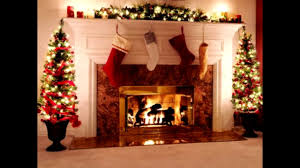 how decorate a fireplace for christmas ideas youtube