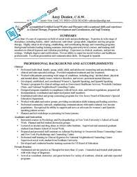 Sample Social Worker Resume by Hospice Social Worker Cover Letter