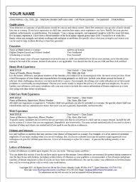 caregiver resume description awesome sample resume child care