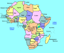 the map of africa africa map for click and learn