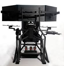 Awesome Gaming Desks R3volution Gaming Cockpit Pc Gaming Desk Obutto