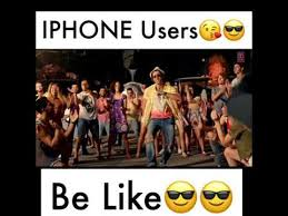 Iphone Users Be Like Meme - iphone users vs vivo oppo users youtube