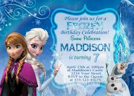 8 best images of frozen invitations printable birthday card free
