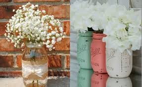Creative Flower Vases Mason Jar Flower Vases 11 Creative Ideas Houz Buzz