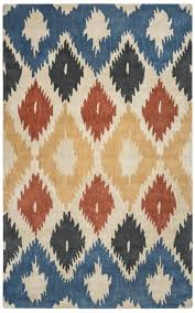 Ikat Area Rug Rizzy Home Bradberry Downs Bd8604 Multi Colored Ikat Area Rug