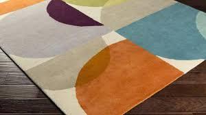 Orange And Turquoise Area Rug Orange Area Rug Tapinfluence Co