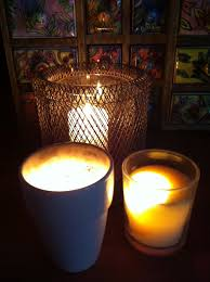 light a candle for someone written in ochre september 2012