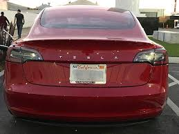 tesla model 3 performance possibly spotted ahead of dual motor rollout