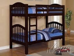 New York Mattresses - Espresso bunk bed