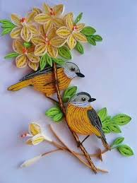 paper quilling birds tutorial lecture d un message mail orange quilling birds with flowers