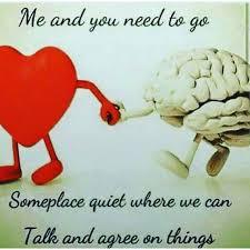 Meme Heart - heart brain meme