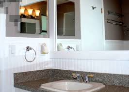 Horizontal Beadboard Bathroom Decor Beadboard Bathroom Wondrous Beadboard Over Tile Bathroom