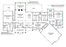 Large Ranch Floor Plans 172 Best House Plans For Multi Generational Family Images On