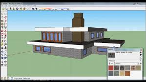 Home Design Using Sketchup Google Sketchup Speed Design Nice House Youtube Idolza