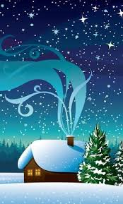 christmas snow wallpaper background g dress up your phone