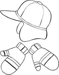 clothes coloring pages jacket winter clothes coloring page kids coloring pages