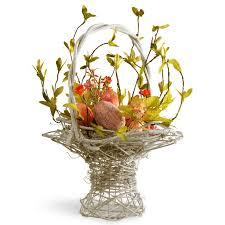 easter basket national tree co easter basket flower arrangements with egg